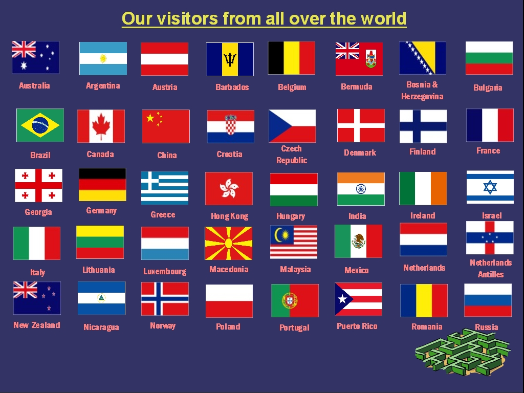 Fans of SOG Specialty Knives from all over the world! (57 different countries!)